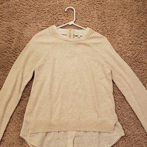 Joie Sweaters - Joie Zaan D layered sweater cream size small EUC